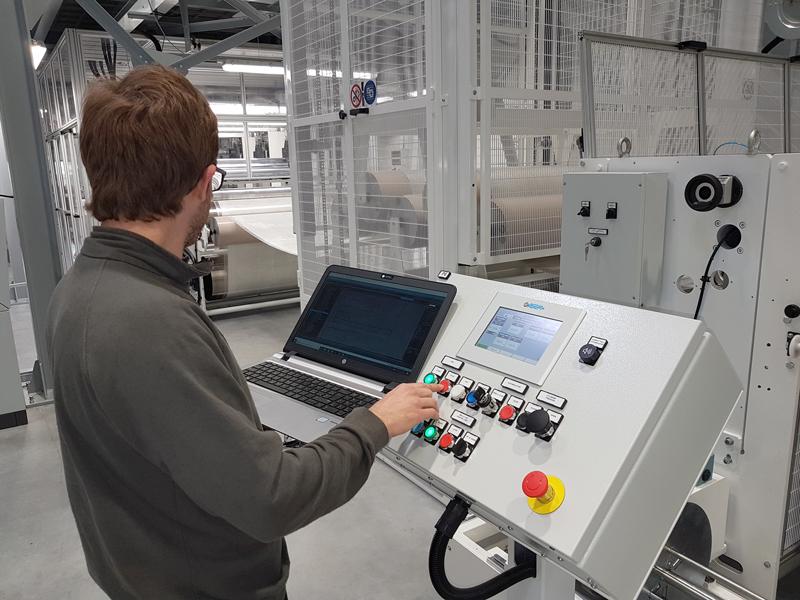 Siltex srl laminating coating machinery